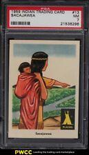 1959 Fleer Indian Trading Card Sacajawea #13 PSA 7 NRMT