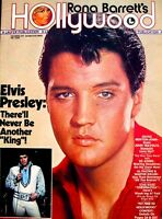Elvis Presley Magazine 1977 Rona Barretts Hollywood Memorial Tribute Pinup Photo