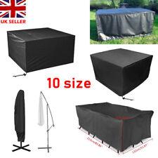 Extra Large Garden Rattan Furniture Cover Patio Outdoor Table Umbrella Sheild