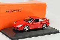 1999 Porsche 911 996 Turbo rot 1:43 Maxichamps / Minichamps