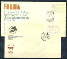 Sudafrica 1986-87 Busta 100% Automatici PAARL, Johannesburg