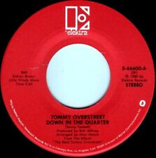 TOMMY OVERSTREET Down In The Quarter ((**NEW 45**)) from 1980