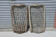 1935 Ford V8 Grille Shells x 2 - make one good one