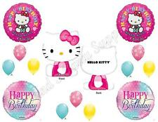 HELLO KITTY Birthday Girl Balloons Decoration Supplies Party pink