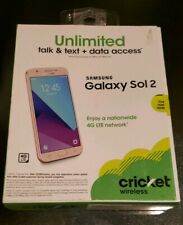 🔥BRAND NEW🔥 Cricket Wireless Samsung Galaxy Sol 2 4G LTE Smartphone