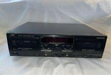 Jvc Td-W318 Dual Cassette Deck 1990s Dolby B C Vintage