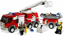 Lego 7239 Camion Pompiers Fire Truck City complet de 2005 + notice -CN110