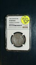 1896 Straits Settlement Fifty Cents NGC XF 50C Coin PRICED TO SELL RIGHT NOW!