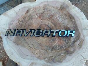 1998-2002 Lincoln Navigator Emblem Badge Nameplate OEM