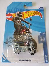 2020 Hot Wheels Honda 3/5 - Honda Monkey Z50 (Dark Red)