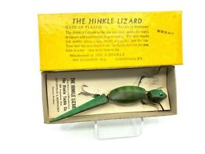 Hinkle Lizard Green Color with Box New Old Stock
