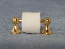 Toilet Roll Holder dolls house miniature bathroom accessory loo paper