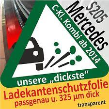 MERCEDES CLASSE-C S205 modello T protezione vernice del Bordo Pellicola AUTO