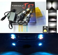 LED Kit C 80W H7 10000K Blue Two Bulbs Head Light High Beam Replacement Lamp Fit