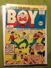 BOY COMICS 118 GDVG 1956 Kubert. Biro