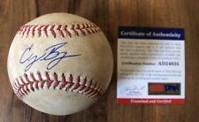 Cody Bellinger Rookie Signed Game Used ROMLB Baseball PSA/DNA MLB Authentic Holo
