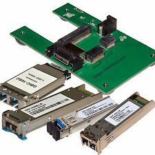 Programmer test board SFP, SFP+, XFP, transceivers modules