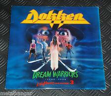 "Dokken 'Dream Warriors' A Nightmare On Elm Street Pt.3 OST 12"" Maxi Single Rare"