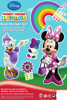 Disney Minnie Mouse & Daisy Duck Wall Stickers Set For Windows, Boxes & Folders