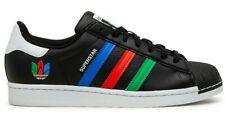 New adidas Originals Superstar Mens athletic sneaker rasta black multi all sizes