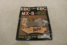 EBC BRAKE PADS MX-S 125