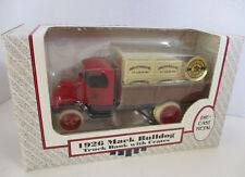 Mack Bulldog Truck Ertl Bank 1:38  1926 Bank with Crates Die Cast Metal Coin USA