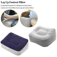 Travel Foot Relax Inflatable Office Travel Stool Pillow Footrest Pad Cushion
