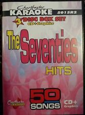 CHARTBUSTER KARAOKE CDG  THE SEVENTIES   (5015)  3 DISC BOX SET  50 TRACKS   NEW