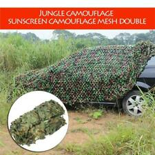 2 x 3 meter Camouflage Net Woodlands Leaves Camo Cover For Hunting Camping cmk