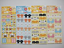 4 X Index Label  Note Tabs BookMark Animal Deco Scapbook Stickers