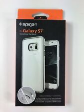 Spigen Galaxy S7 Neo Hybrid Crystal Satin Silver Phone Case