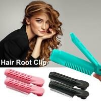 2PCS Volumizing Hair Root Clips Curler Roller Wave Fluffy Clips Styling Tools