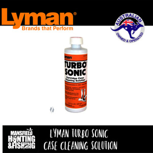 LYMAN TURBO SONIC CONCENTRATED CASE CLEANING SOLUTION - LY-TSCCOL