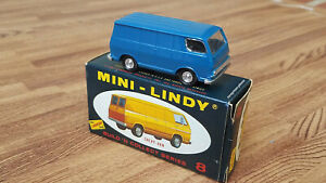 Vintage Lindberg Mini Lindy # 8 Chevy Van  with  Box - Not Painted - Minty