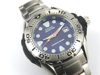 Men's Pulsar Solar by Seiko V145-X009 Professional Divers Watch - 200m