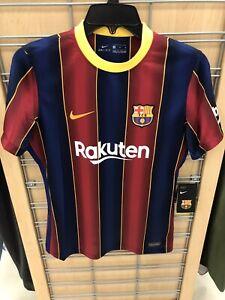 Nike 2020/21 FC Barcelona Women's Soccer Jersey Barca Home Sz MEDIUM