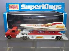 "MATCHBOX SUPERKINGS  MODEL No.K-27 ""MATCHBOX "" POWERBOAT & TRANSPORTER VN MIB"