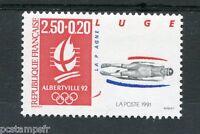 FRANCE 1991 timbre 2679, Sport, Ski, Luge, neuf**