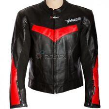 Mv Agusta Brutale Edition Motorrad Gepanzerte Ce Leder Bikerjacke