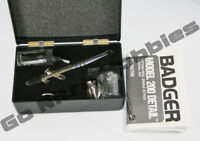 NEW Badger 200 Fine Detail Single Action Detail Airbrush Kit FREE SHIPPING