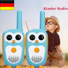 1Pair Kinder Retevis RT30 0,5W Funkgerät Walkie Talkie Eule Figur LED-Anzeige