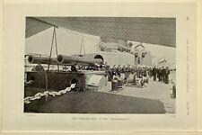 1898 Stampa avanti Deck di il Massachusetts