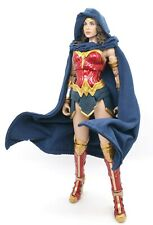 Deep Blue Cape with Hat for McFarlane Wonder Woman (No Figure)