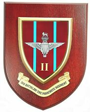 2ND BTN THE PARACHUTE REGIMENT CLASSIC HAND MADE IN THE UK REGIMENT MESS PLAQUE