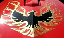 1973-78 TRANS AM COMPLETE DECAL KIT - GOLD w 1 PC HOOD BIRD -GM LIC. MADE IN USA