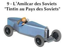 Voiture tintin 1/24  l'amilcar des soviéts  Neuf en boite miniature collection
