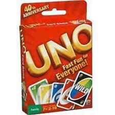 MATTEL UNO CARD GAME  *Brand New - FAST FUN FOR EVERYONE* 52277