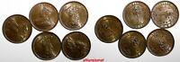 Ceylon George V Copper 1926 1/2 Cent UNC Condition RANDOM PICK (1 COIN) KM# 106