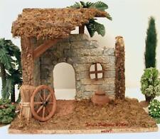 """All Purpose 5"""" Series Nativity Village Rustic Bldg/Stable Use w/Fontanini Gcib"""
