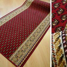 feiner klassischer Teppich Läufer AW MIR Klassik Rot Orientmuster 100 cm breit